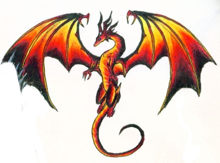 Dragons page 2 - Aile de dragon dessin ...